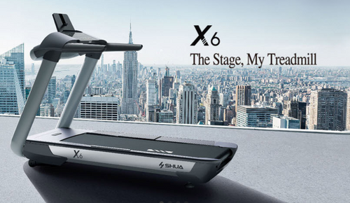 Shua X6 Treadmill  - quality cardio equipment for home or gym