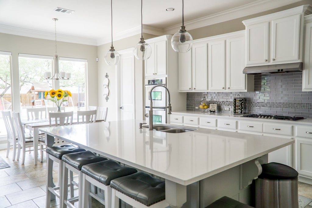 Beyond Stone Solutions - 4 Essentials to Kitchen Countertops - White Stone Countertop