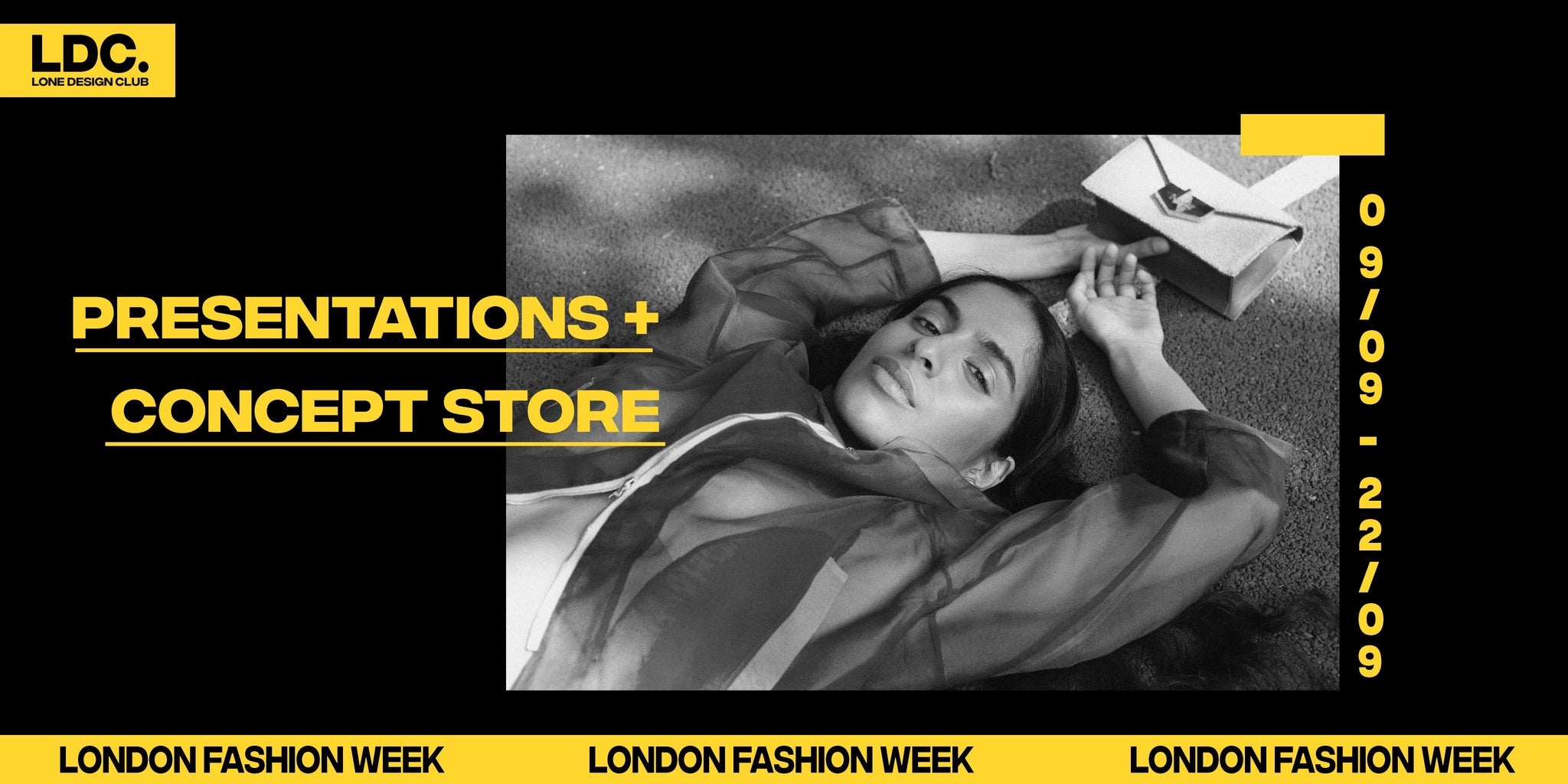 TOKKOU x LDC x LFW - Presentations + Concept Store in Covent Garden  (9th - 22nd September 2019)