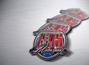 I95 Motorsports Shield Logo Sticker