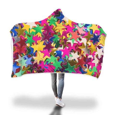You Don't Have To Be A Star - Fun Hooded Blanket  - Hooded Blankets Sherpa Lined Adult Youth Sizes