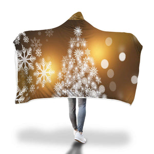 You're The Angel On My Tree - Hooded Blanket  - Hooded Blankets Sherpa Lined Adult Youth Sizes
