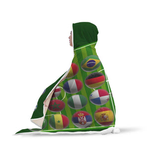 World Cup Footy - Hooded Blanket