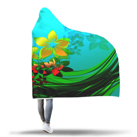 Yellow Flower - Hooded Blanket