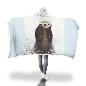 The Otters - Hooded Blanket