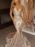 Mermaid Prom Dresses,Sparkly Evening Dress,Stylish Evening Dress,PD00361