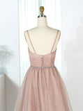 A-line Bridesmaid Dresses,Simple Bridesmaid Dress,Organza Bridesmaid Dress,BD00290