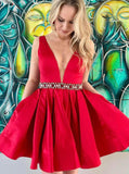 A-line Homecoming Dresses,Short Homecoming Dress,Homecoming Dress for Teens,HC00199