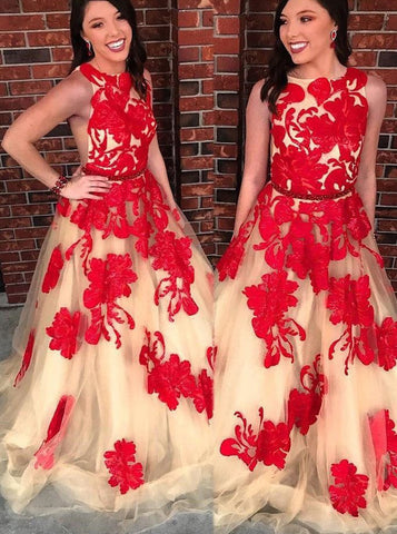 A-line Prom Dresses,Unique Prom Dress for Teens,PD00418
