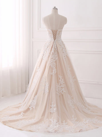 products/a-line-wedding-dresses-lace-wedding-dress-elegant-bridal-gown-strapless-wedding-gown-wd00063-1.jpg