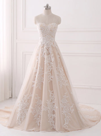 products/a-line-wedding-dresses-lace-wedding-dress-elegant-bridal-gown-strapless-wedding-gown-wd00063.jpg