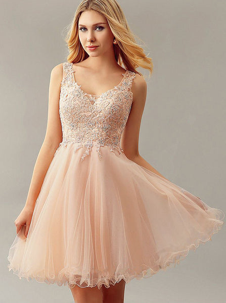 Peach Sweet 16 Dresses,Tulle Sweet 16 Dress,Modern Sweet 16 Dress,SW00016