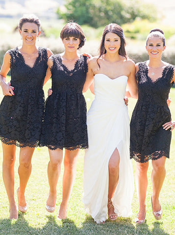 products/black-bridesmaid-dress-short-lace-bridesmaid-dress-v-neck-bridesmaid-dress-bd00173.jpg