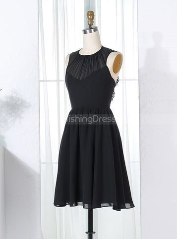 products/black-bridesmaid-dresses-short-bridesmaid-dress-chiffon-bridesmaid-dress-bd00267-2.jpg
