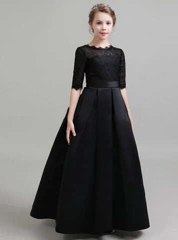 products/black-formal-kids-party-dresses-fall-satin-junior-bridesmaid-dress-with-sleeves-jb00065-3.jpg