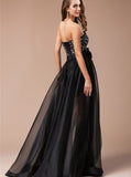 Black Prom Dresses,Sweetheart Prom Dress,Prom Dress for Teens,Long Prom Dress,PD00284