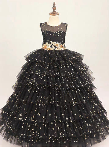 products/black-sequined-little-girl-party-gown-junior-girls-prom-gown-gpd0036-4.jpg