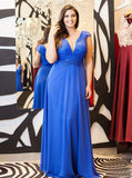 Blue Mother of the Bride Dresses,Elegant Mother Dress,Long Mother of the Bride Dress,MD00019
