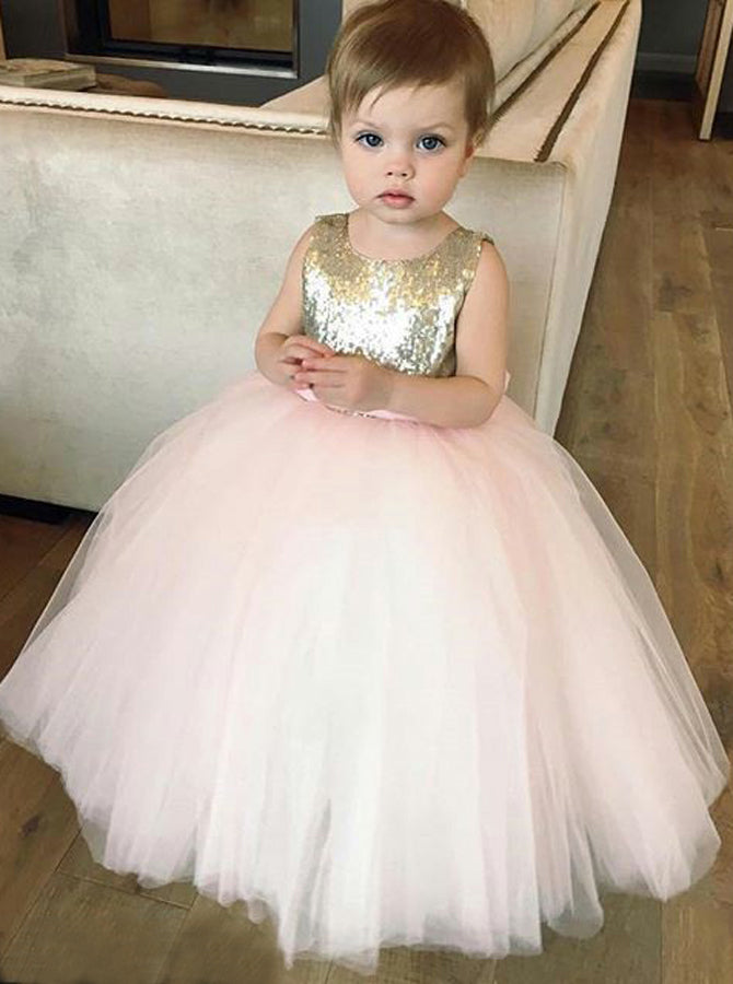 9e5da552b ... sweden blush pink flower girl dressesball gown flower girl  dresssequined flower girl dress 6c8a3 a8952