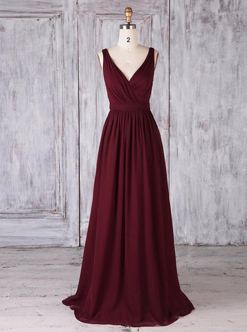 products/burgundy-bridesmaid-dresses-classic-bridesmaid-dress-modest-bridesmaid-dress-bd00353-2.jpg