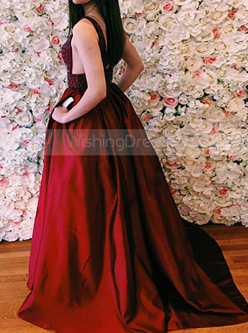 products/burgundy-taffeta-prom-gown-floor-length-prom-dress-with-pockets-v-neck-evening-dress-pd00067-1.jpg