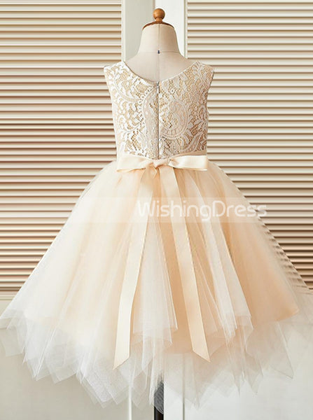 Princess Flower Girl Dress,Tulle Flower Girl Dress,Girls Party Dresses,FD00026