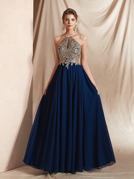 Chiffon Prom Dresses,Elegant Prom Dresses for Teens,PD00415