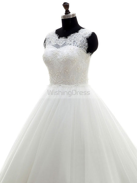 Classic Wedding Dresses,Princess Wedding Dress,Formal Wedding Dress,WD00271