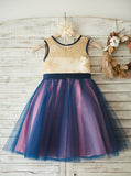 Colored Flower Girl Dress,Girl Party Dress,Tulle Birthday Party Dress,FD00112