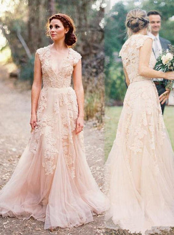 products/colored-wedding-dresses-lace-wedding-dress-vintage-wedding-dress-long-wedding-dress-wd00221-3.jpg