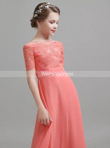 products/coral-junior-bridesmaid-dresses-with-sleeves-chiffon-elegant-junior-bridesmaid-dress-jb00067-1.jpg