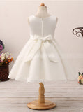 Cute Flower Girl Dresses,Knee Length Flower Girl Dress,Tulle Flower Girl Dress,FD00057