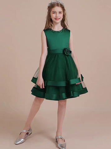 products/dark-green-knee-length-little-girls-party-dresses-satin-and-tulle-junior-bridesmaid-dress-jb00077-2.jpg
