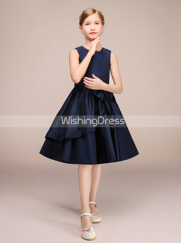 products/dark-navy-junior-bridesmaid-dress-knee-length-junior-bridesmaid-dress-jb00026-4.jpg