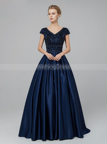 products/dark-navy-prom-dress-with-cap-sleeves-satin-modest-evening-dress-pd00438-2.jpg