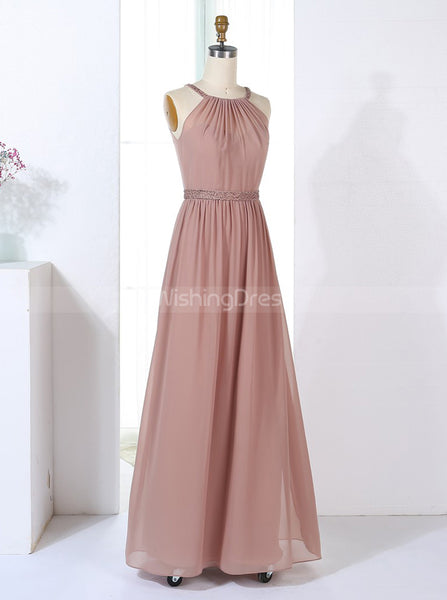Elegant Bridesmaid Dresses,Long Bridesmaid Dress,BD00312