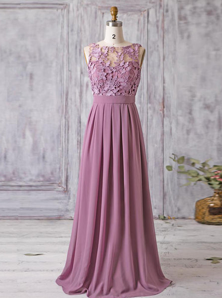 Elegant Bridesmaid Dresses,Long Bridesmaid Dress,BD00338