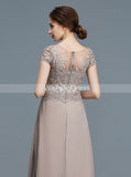 Elegant Mother of the Bride Dresses,Mother Dress with Sleeves,Long Mother Dress,MD00026