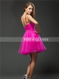 Fuchsia Sweet 16 Dresses,Simple Sweet 16 Dress,Sweet 16 Dress with Straps,SW00041