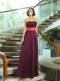 Grape Bridesmaid Dresses,Long Bridesmaid Dress,Satin Bridesmaid Dress,BD00239