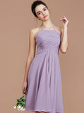 Halter Bridesmaid Dresses,Short Bridesmaid Dress,Empire Bridesmaid Dress,BD00259