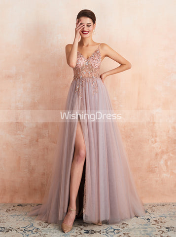 products/illusion-prom-dress-with-slit-dusty-blue-evening-dress-pd00459-1.jpg