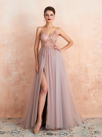 products/illusion-prom-dress-with-slit-dusty-blue-evening-dress-pd00459.jpg