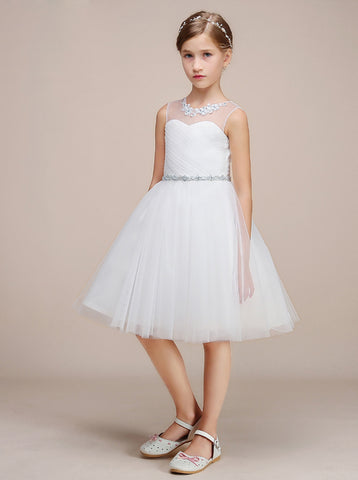 products/knee-length-junior-bridesmaid-dress-white-tulle-flower-girl-dress-jb00023-4.jpg