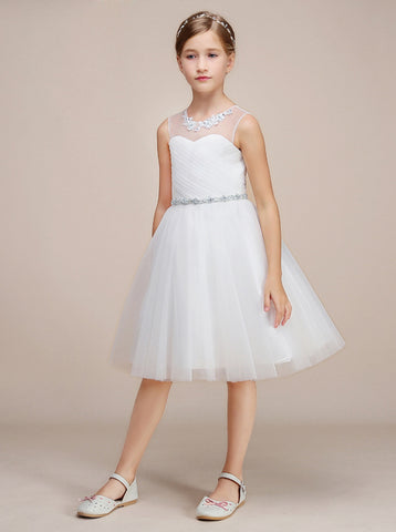 products/knee-length-junior-bridesmaid-dress-white-tulle-flower-girl-dress-jb00023-6.jpg