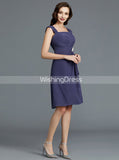 Knee Length Mother of the Bride Dress with Jacket,Simple Mother Dress,MD00025