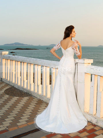 products/lace-wedding-dress-with-sleeves-beach-wedding-dress-off-the-shoulder-bridal-dress-wd00274.jpg