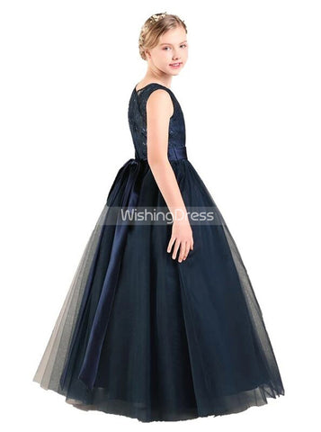 products/little-princess-dresses-navy-formal-dress-for-teens-tulle-junior-bridesmaid-dress-jb00061-2.jpg