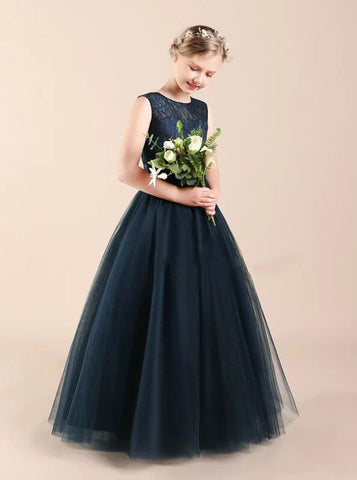 products/little-princess-dresses-navy-formal-dress-for-teens-tulle-junior-bridesmaid-dress-jb00061-4.jpg