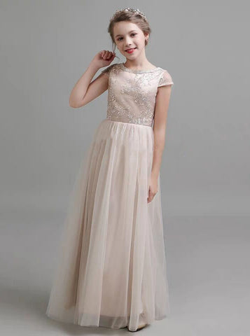 products/long-tulle-junior-bridesmaid-dresses-formal-girls-party-dress-jb00052-2.jpg